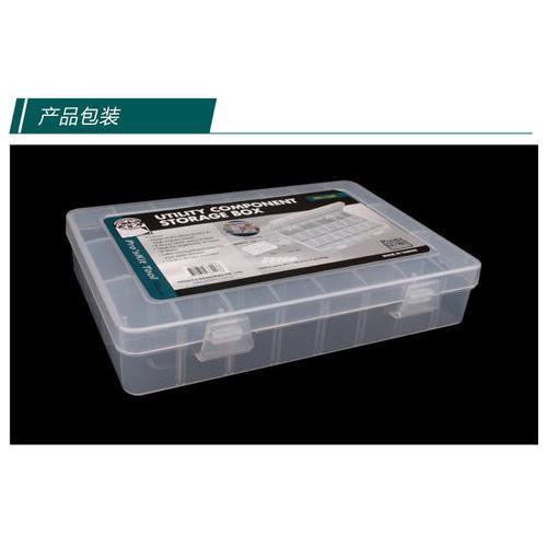 宝工(Pro'sKit)203-132E 24格活动耐摔零件盒