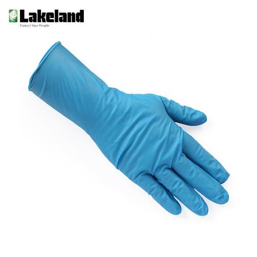 雷克兰 /LAKELAND 8308PF 防化系列限次性手套限次性使用丁腈防化手套无粉