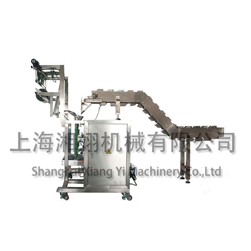 链斗输送+立式复合膜包装机