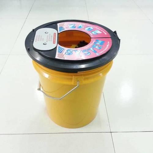 专业羊毛盘/海棉盘清洁桶