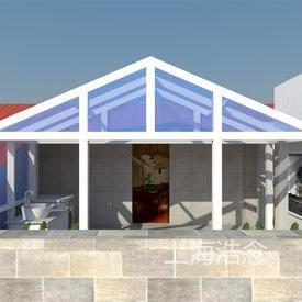铝合金钢结构阳光房