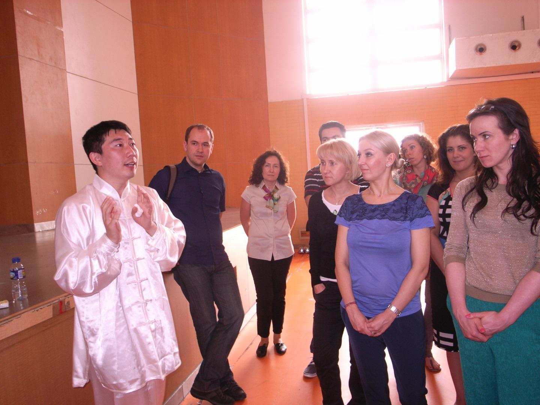 外国人太极拳体验活动 Tai Chi Wang Kaiyuan