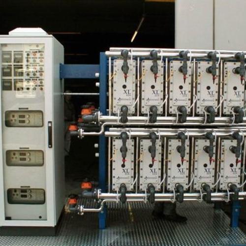 EDI纯水设备系统出水电阻率可稳定在15MΩ.CM以上