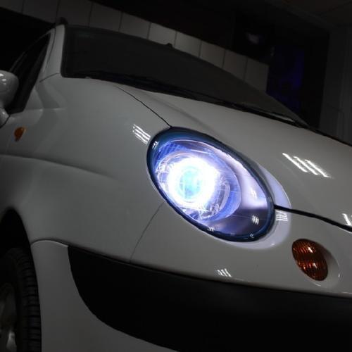 雪佛兰乐骋史上最强车灯改装氙气灯 上海蓝精灵改灯出品