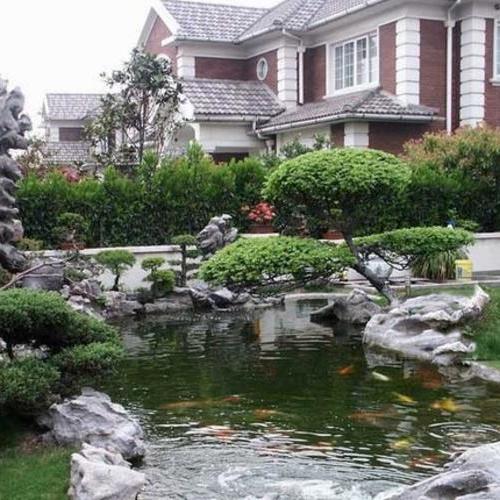 私家花園施工