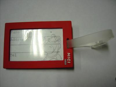 软胶3D吊牌2
