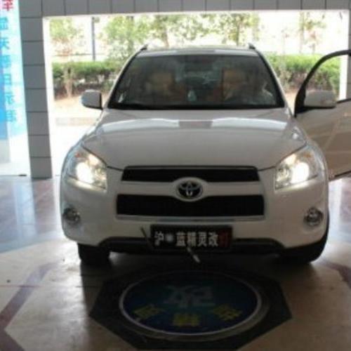 丰田RAV4改大灯 上海蓝精灵改灯 RAV4升级双光透镜氙气灯