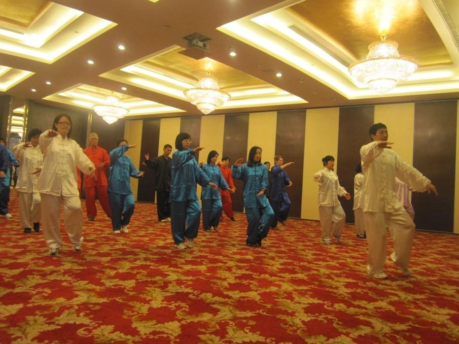 国际油漆太极拳学习活动
