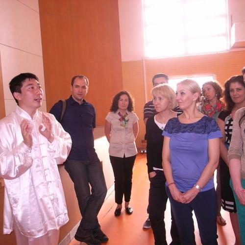 全英文太极拳文化学习体验活动 Shanghai TAI CHI Activity