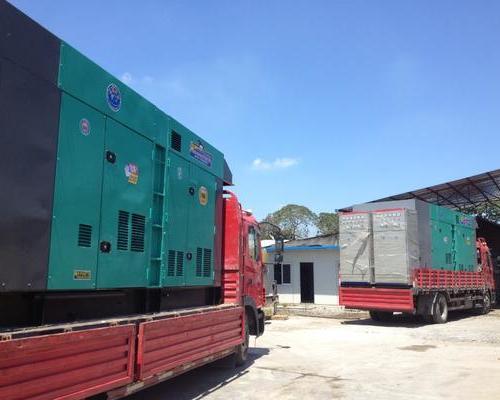 发电机面向工厂设备租赁