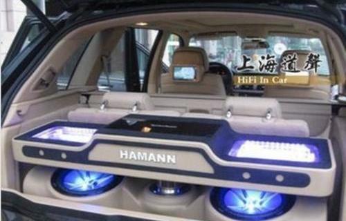 宝马X 5发烧级音响改装 升级喇叭功放