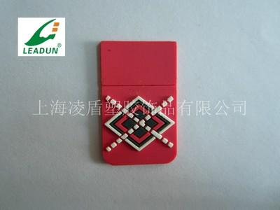 软胶双面侧缝标牌