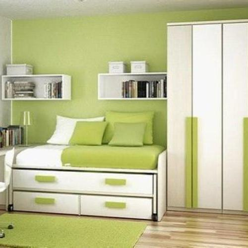 綠色清新風格家庭裝修