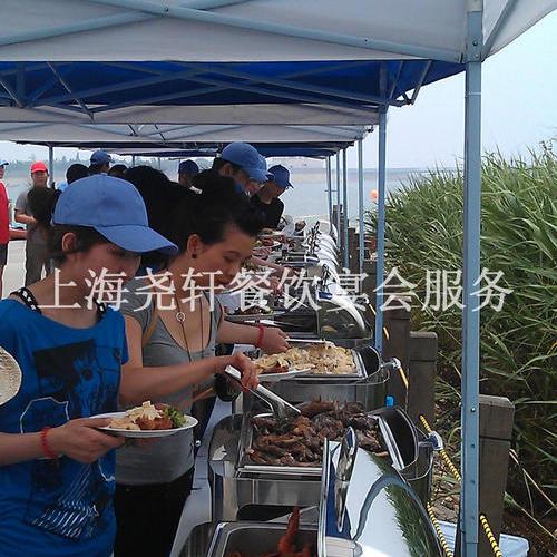 金山阳光海滩俱乐部200人自助餐