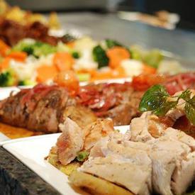 中西合璧国际自助餐菜单