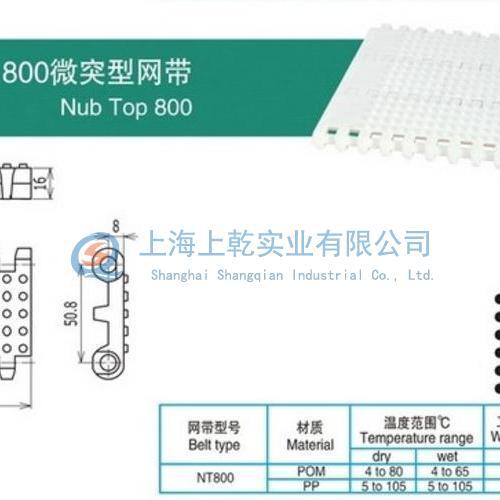 800微突型網帶
