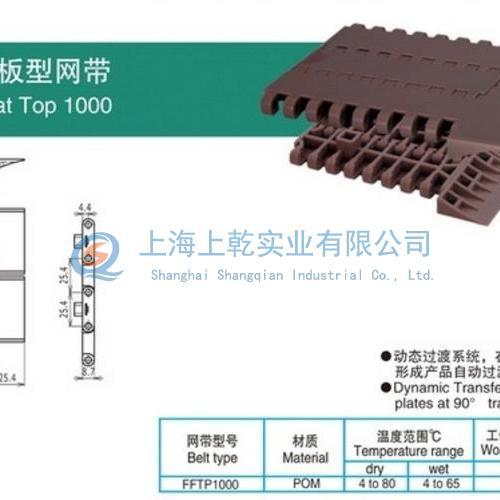 1000側傳平板型網帶