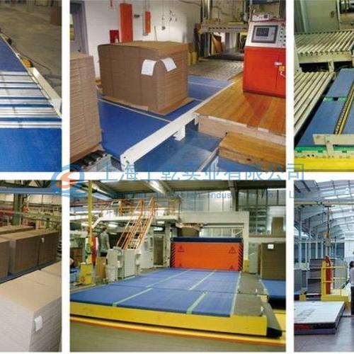 瓦楞紙板加工行業輸送機