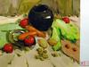 蔬果静物绘画