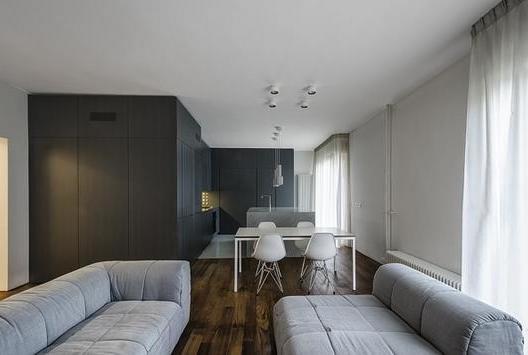 黑白灰 簡約公寓