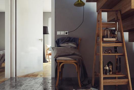 小型復式公寓