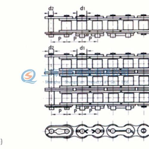 B系列短节距精密滚子链