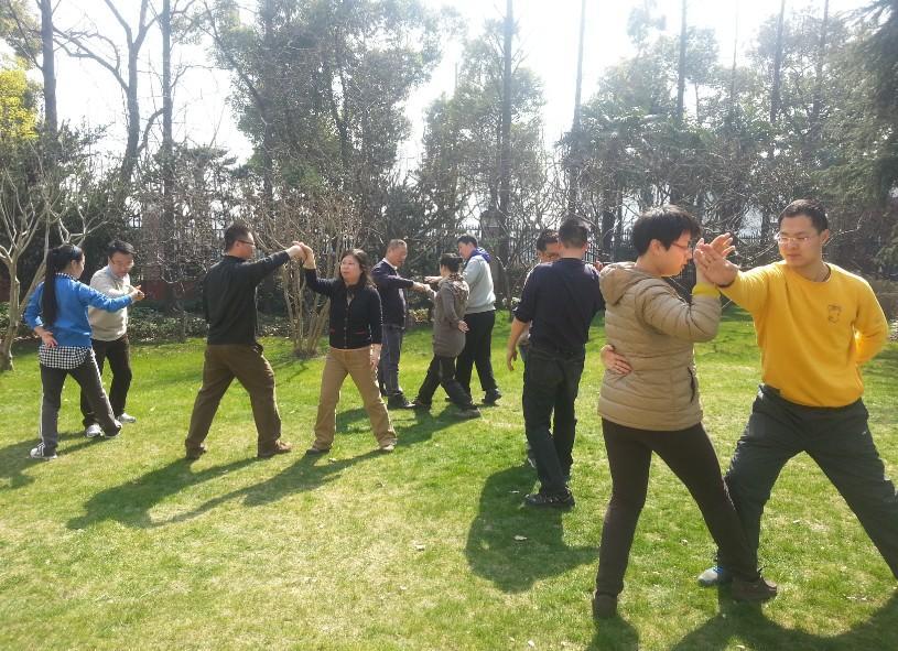 上海太极拳培训中心复习课1