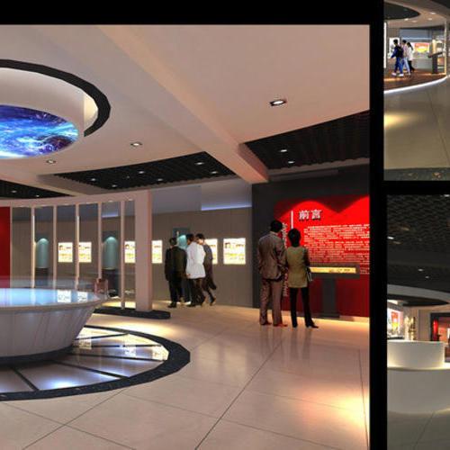 学校展厅校史馆文化长廊展示墙装修设计