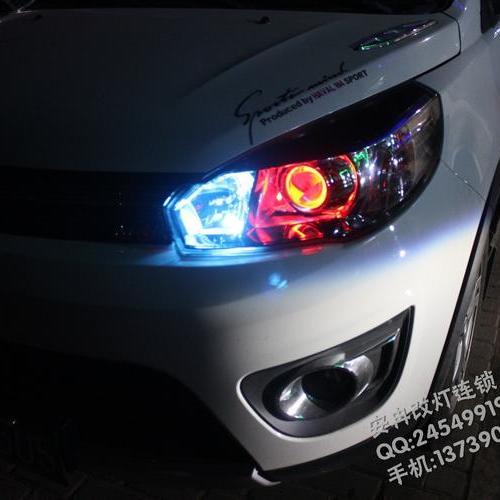 长城M4改大灯