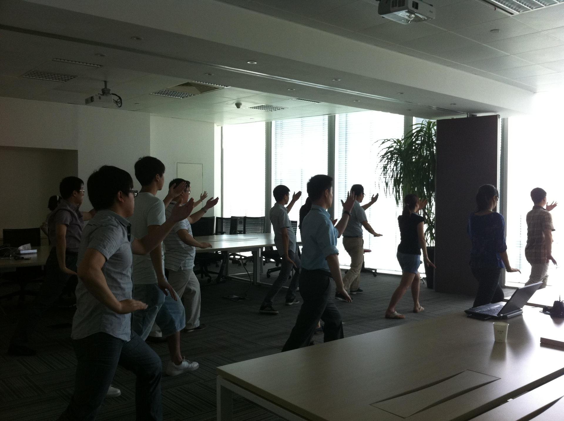 欧莱雅(中国)有限公司太极拳学习课程