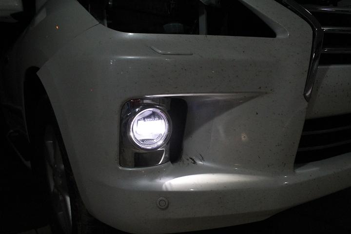 欧司朗LED雾灯多功能