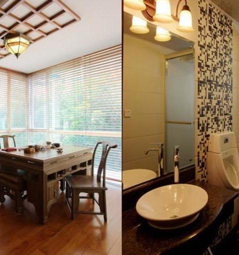 家装-卫生间和客厅