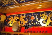 古建筑寺庙彩绘,寺庙翻新
