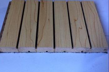 实木吸音板1