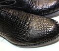 2014 限量 特价 人气 手工定制皮鞋 精品 男鞋 低帮鞋 鳄鱼皮