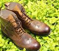 KLASSIC手工定制 限量 精品 男鞋 低帮鞋 头层牛皮 雕花 男皮鞋