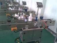 貼標機生產現場 Labeling Machine