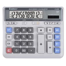 齐心 C-2135 电脑按键计算器 双电源计算机 12位太阳能