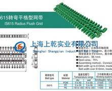 IS615转弯平格型塑料网带