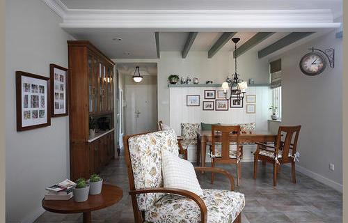 地中海风格-客厅