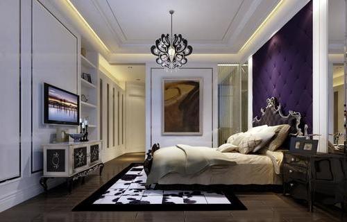简欧风-卧室