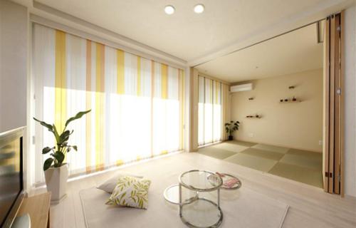 自然清新日式-客厅