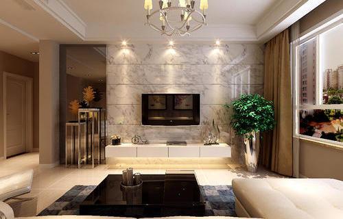 后现代风格-客厅