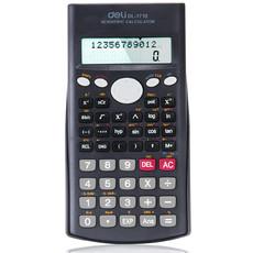 得力1710科学考试计算器 学生多功能函数韩国可爱计算机