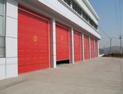消防队专用车库翻板门