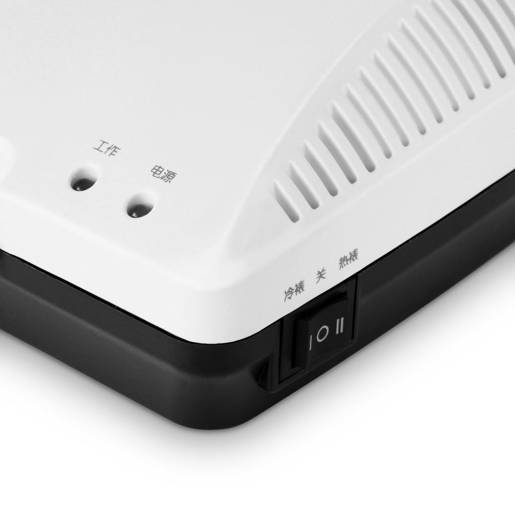 亚博足球app下载3899塑封机/过塑机A3 支持热塑/冷裱 黑/白全国联保