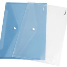 亚博足球app下载5505塑料文件袋透明档案袋按扣资料袋试卷袋A4纽扣袋办公用品