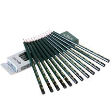 亚博足球app下载7084 安全考试专用填涂答题卡2B木质铅笔/学生铅笔 12支/盒