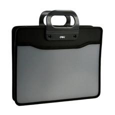 得力A4织布手提包5579 多功能文件包事务包资料包 商务办公 实用