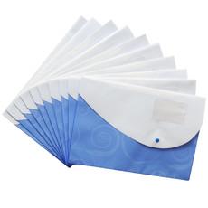 亚博足球app下载5664文件袋 F/C塑料档案袋 彩色纽扣袋 亚博足球app下载文具